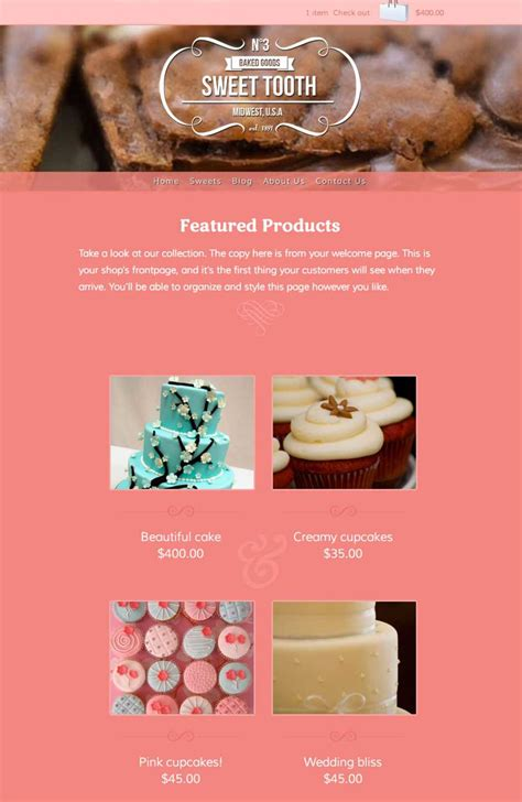 shopify themes bakery 15 premium best shopify ecommerce themes