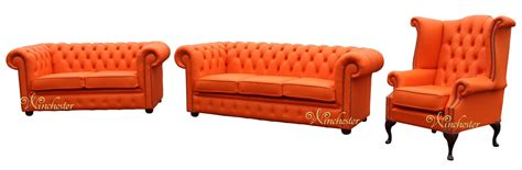 leather sofa suite deals chesterfield 3 2 1 three piece leather sofa suite mandarin