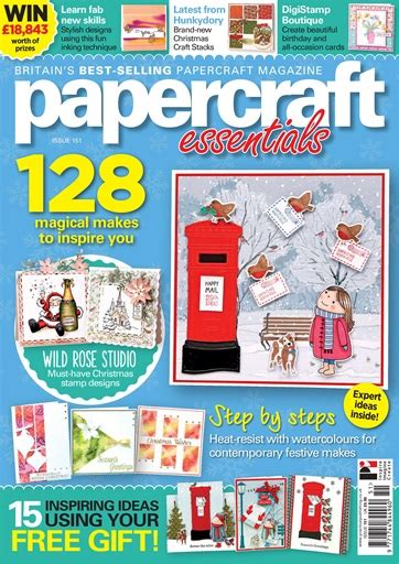 papercraft essentials magazine issue 151 subscriptions
