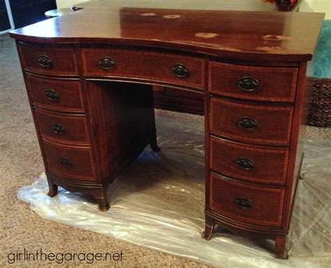 old furniture makeovers french decoupage desk themed furniture makeover day