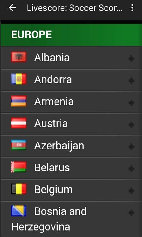 live score free live score soccer apk download for android getjar