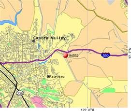 castro valley california map 94552 zip code castro valley california profile homes