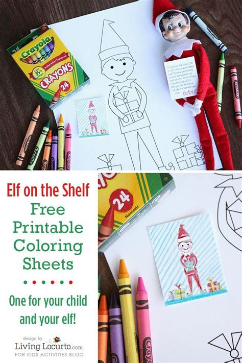 elf size coloring page elf on the shelf sized coloring sheets and kid sized