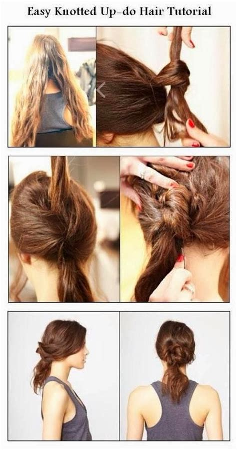 easy hairstyles for short hair tutorial step by step easy tutorials on hairstyles fashionate trends