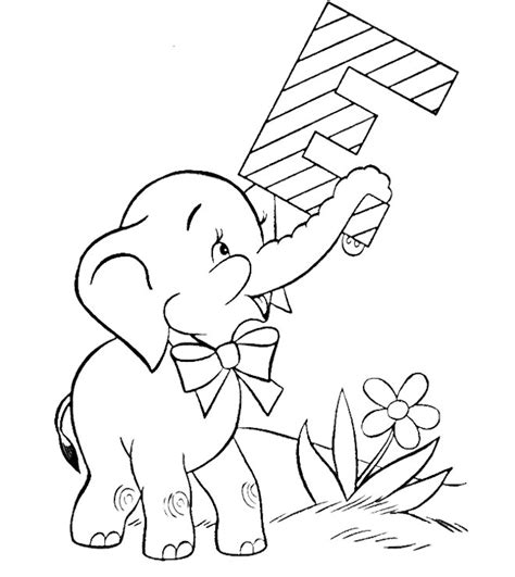 baby elephant coloring pages az coloring pages