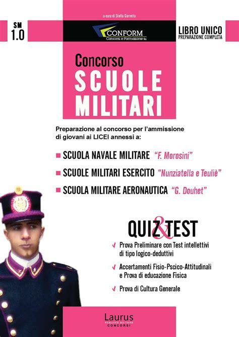 test intellettivi calam 233 o cod sm 1 0 concorso scuole militari