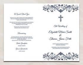 Chalkboard Program Wedding Catholic Invitations On Etsy A Global Handmade And Vintage Marketplace