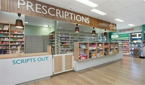 Medical Office Floor Plan by Pharmacy Interior Design