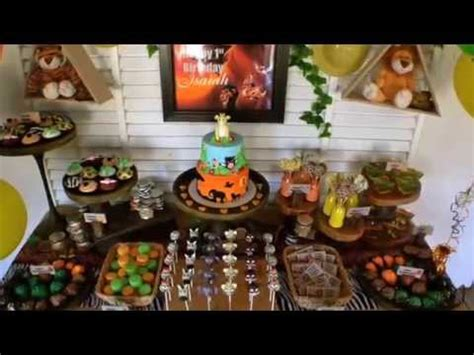lion king themed birthday party ideas lion king first birthday party via little wish parties