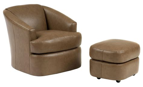 barrel chair with ottoman contemporary swivel barrel chair and ottoman with casters