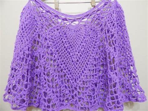 capas tejidas a gancho capa cuatro pi 241 as crochet 1 de 2 youtube