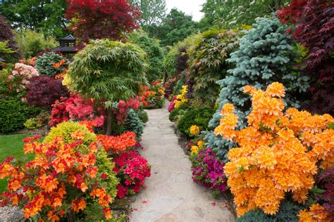 Most Beautiful Flower Gardens Four Seasons Garden The Best Flower Gardens In The World