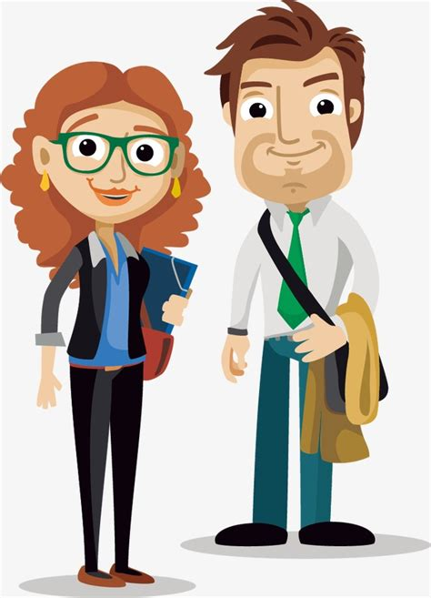 you mujer cojiendo con hombre en el bus cartoon young men and women youth business man png and