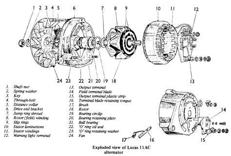 alternator diagram alternator components diagram alternator free engine