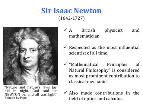 sir isaac newton biography mathematician mi 291 chapter 1 introduction