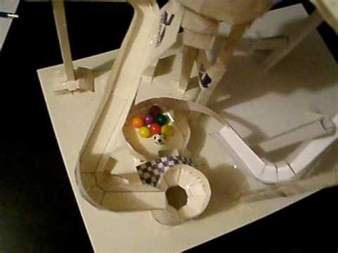 How To Make A Roller Coaster Loop Out Of Paper - updated marble paper roller coaster