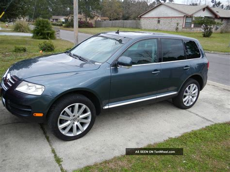 volkswagen tdi 2004 vw touareg v10 tdi all wheel drive autos post