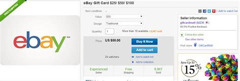 Ebay Gift Card Paypal - earn 30 through paypal credit card promotion ways to save money when shopping