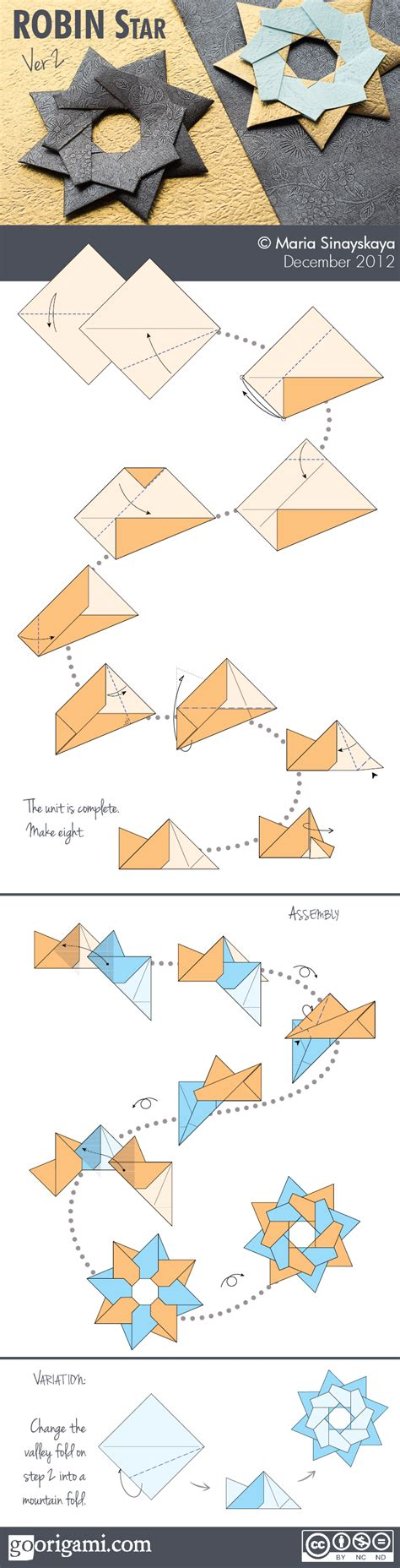 Diagram Origami - robin by sinayskaya diagram go origami