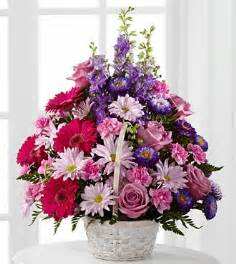 Bulk Silk Flowers The Ftd Pastel Peace Basket Pesche S