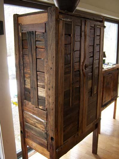 rustic furniture from reclaimed wood the alternative