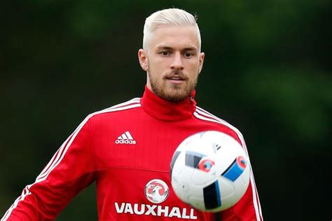 aaron ramsey bleaches hair for wales euro 2016 caign aaron ramsey s new blond hair the 8 best lookalikes from