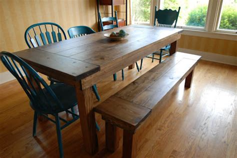 farmhouse table with bench and chairs diy bench for a farmhouse table home and heart diy
