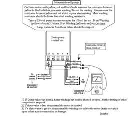 wiring diagram 220 well wiring diagram test franklin electrical