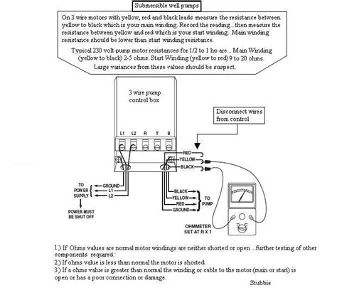 wiring diagram for 3 wire well php wiring wiring
