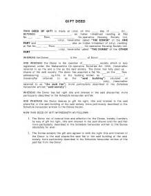 Deed Of Gift Letter Uk Gift Template Category Page 5 Sawyoo