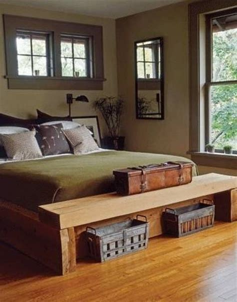 rustic masculine bachelor bedroom ideas cleaning and organizing seat at rustic