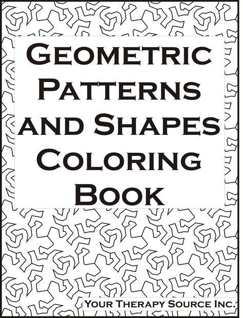 shape shape pattern book 88 coloring book geometric designs geometrical