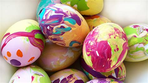 easy painted easter egg crafts for