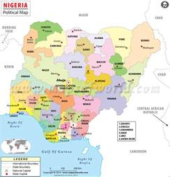 Map Of Nigeria States by Photos Maps Of All 36 States In Nigeria Showing All Local