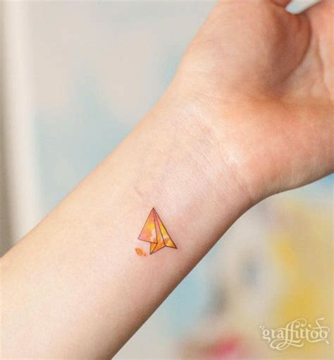 paper plane tattoo 17 best ideas about paper airplane tattoos on