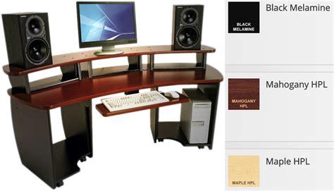 Desk Editor by Omnidesk Omni B Black Audio Editing Desk