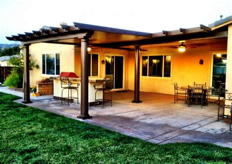 southern california patios solid patio covers aluminum