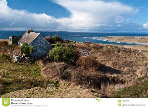 Beach House Plans Free scenic irish landscape with old irish cottage stock image