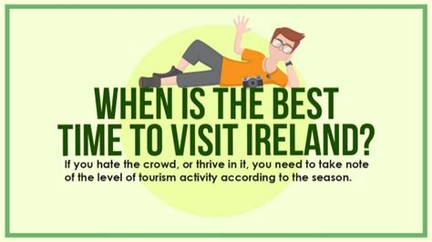 best time visit when is the best time to visit ireland