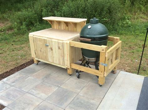 bbq prep table plans woodworking projects plans