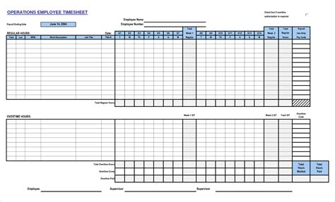 6 time card templates timeline template