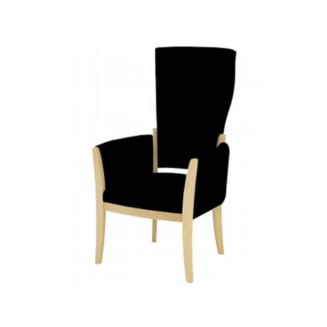 High Back Armchair by Rossetti High Back Armchair Knightsbridge Furniture