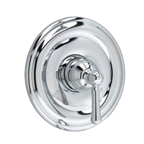 shop american standard portsmouth polished chrome 2 handle american standard portsmouth 1 handle valve trim kit in