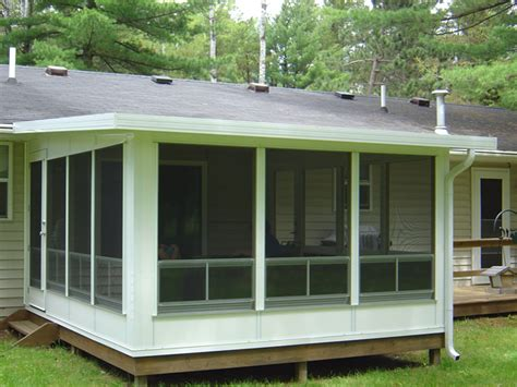 deck leads to four seasons room denbesten real estate 3 season sunrooms deck shade solutions