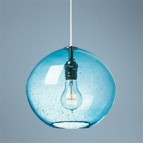Aqua Pendant Lights Lbl Isla Aqua Nickel 9 3 4 Quot Wide Pendant Light