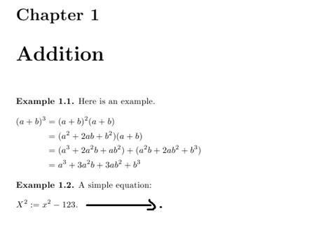 tutorial latex formula positioning of equations begin equation command tex