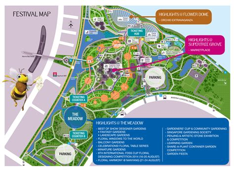 Gardens By The Bay Map Archives Sengkang Babies Singapore Botanical Garden Map