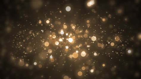 stock video  background gold movement universe golden