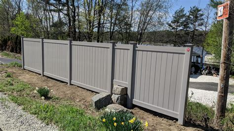 vinyl fence colors vinyl fences custom privacy colors dover nh