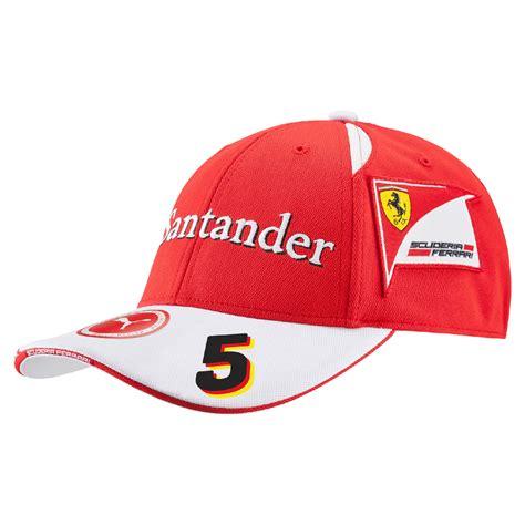05 Sebastian Vettel F1 new 2016 sebastian vettel 5 f1 driver cap white